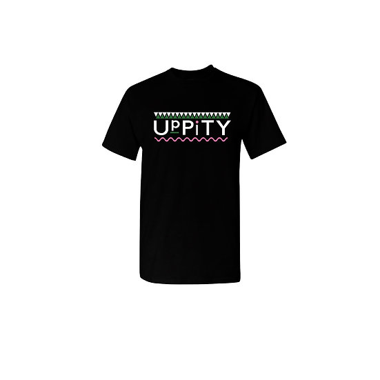 "Pink and Green ""Uppity"" T-shirt"