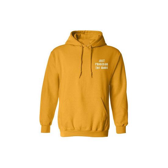 "Yellow ""WAVE"" Hoodie"