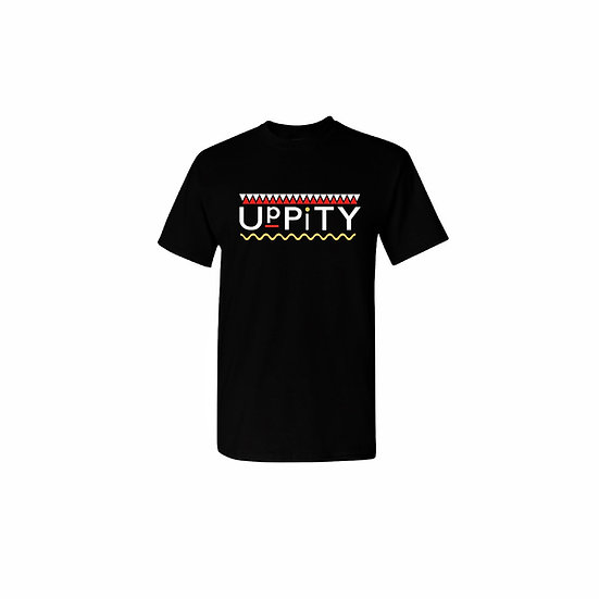 "Red and Yellow ""Uppity"" T-shirt"