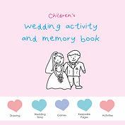 Weding Activity Book