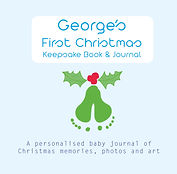 GEORGE Baby's First Christmas Cover_web.
