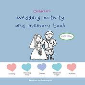 Scotland Wedding Activity Book