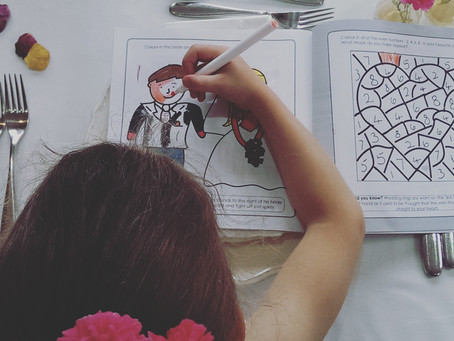 Children at weddings; cracking the crunch points