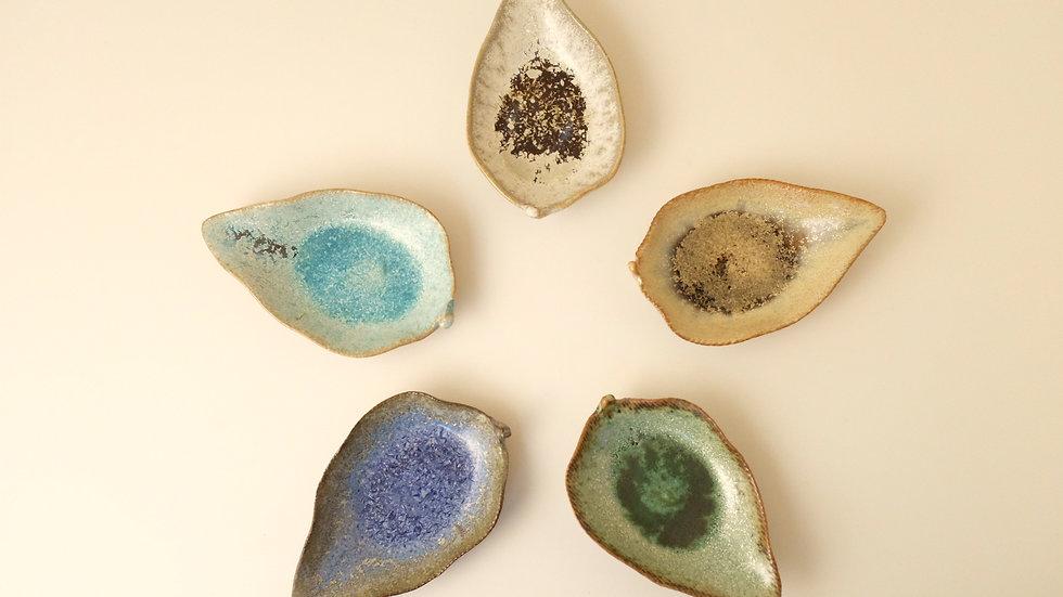 木の葉銘々皿