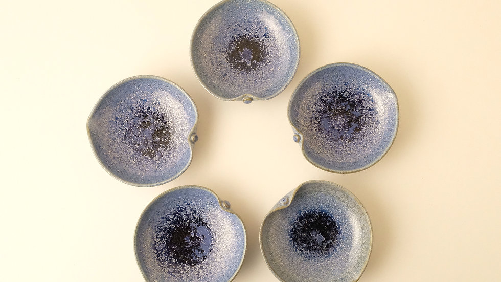 りんご型取皿(5枚組)