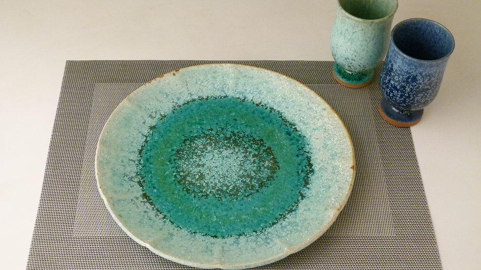 ひまわり皿