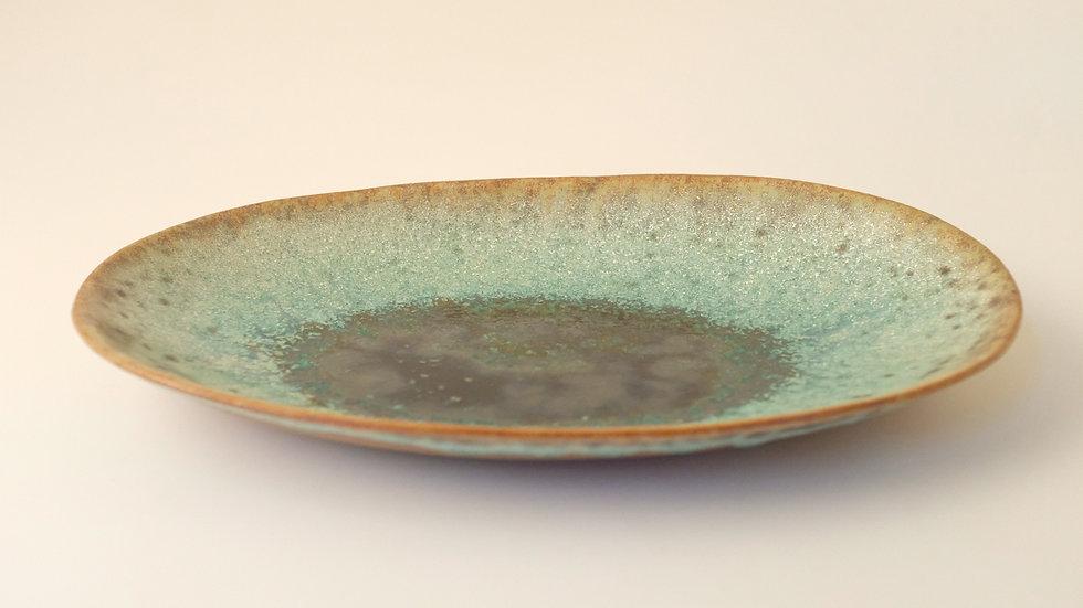楕円皿(秋)