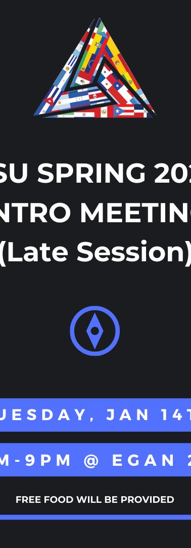 iHSU Intro Meeting Late Session