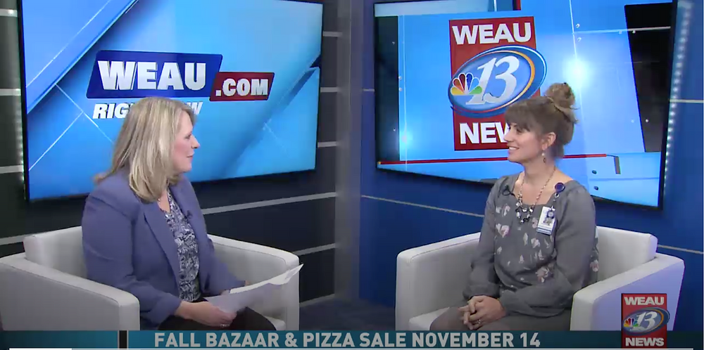 Interview from WEAU with Administrator, Erica Salsbury