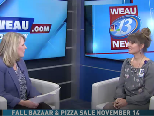 Pioneer Health & Rehab Featured on WEAU for Upcoming Fall Bazaar & Pizza Sale