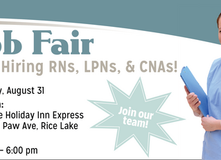 Job Fair in Rice Lake