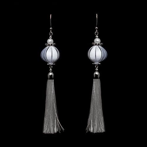 Fuchsia Earrings - Silver