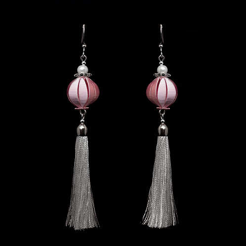 Fuchsia Earrings - Pink