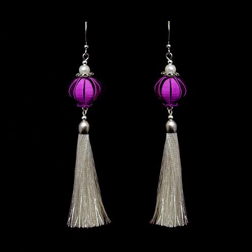 Fuchsia Earrings - Violet