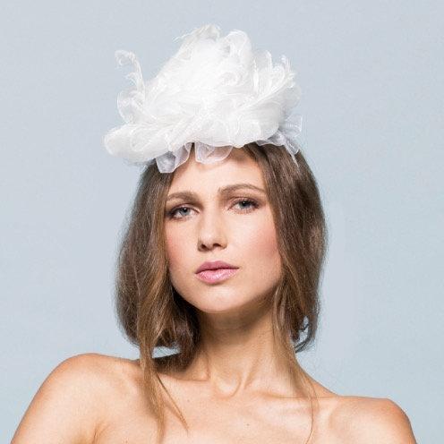 Rosanne Headpiece by Imellda Ho