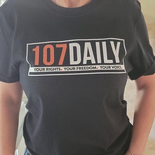 107DAILY Logo Tee