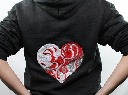 Heart Unisex Hoodie
