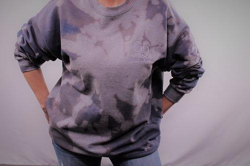 Reverse Tie Dye Unisex Sweatshirt