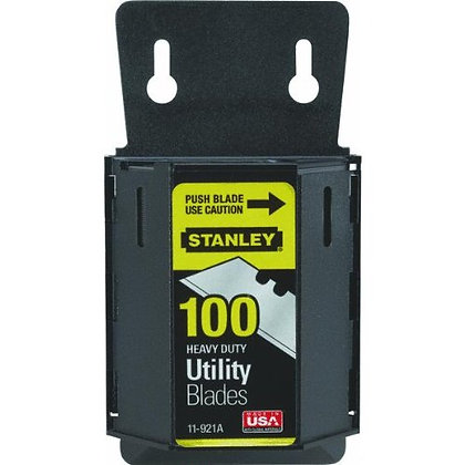 Stanley Hand Tools 11-921A 100 Pack Utility Knife Blades & Dispenser 4