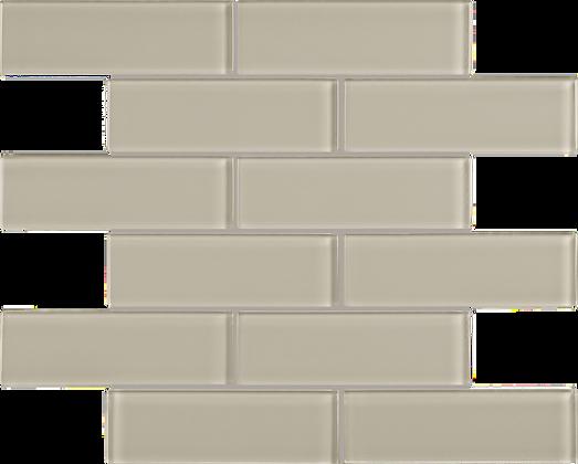"""POM Brick Tranquil Tan 2"""" x 6"""""""
