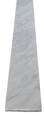 """72"""" x 6"""" x 5/8"""" White Carrara Sill"""