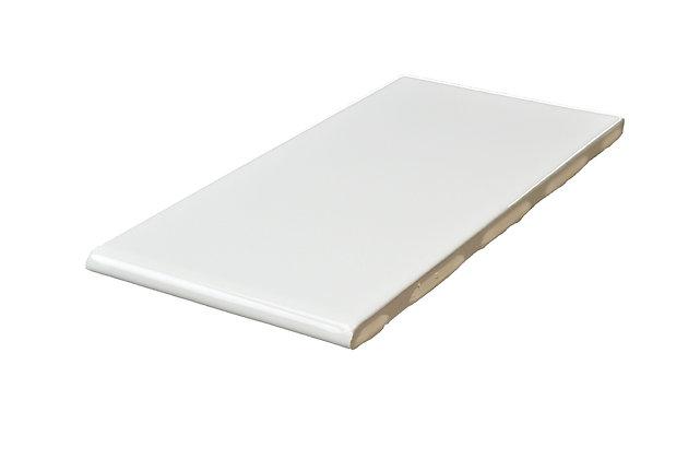 """Streamline White #310 BN (3"""" Side) Cap  3"""" x 6"""""""
