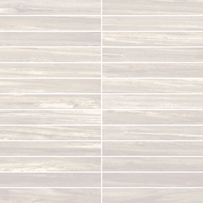 """Ainslee Park Zebrino Taupe Stacked 1""""x 6"""""""