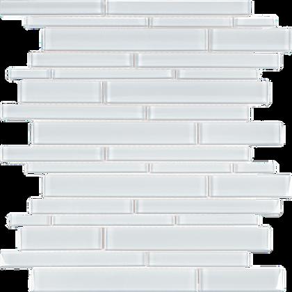 POM Random Strips Pure White