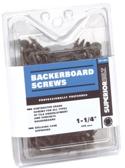 Backerboard Scews