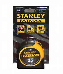Stanley Fat Max Measuring Tape