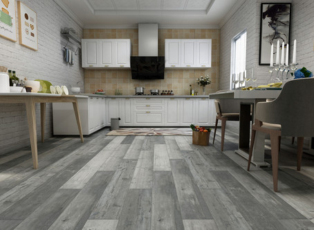 LVT - Luxury Vinyl Tile - A Whole New World