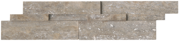 "Ledgerstone Silver Honed 6"" x 24"""