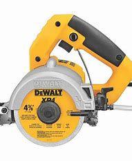 DWC860W Dewalt Heavy-Duty 4-3/8'' Wet/Dry Tile Saw