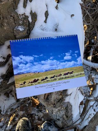 The Native Cowgirl's 2020 Calendar!