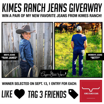 Kimes Ranch Jeans Giveaway!