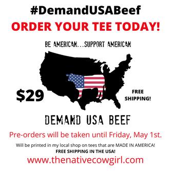 Demand USA Beef Tee (Pre-Order)