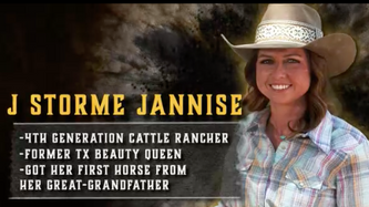 Last Cowgirl Standing...J Storme Jannise