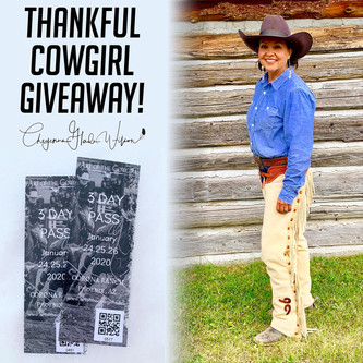 Thankful Cowgirl Giveaway