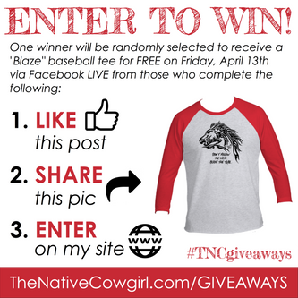 Buckaroo Sweater Winner & Blaze Tee Giveaway