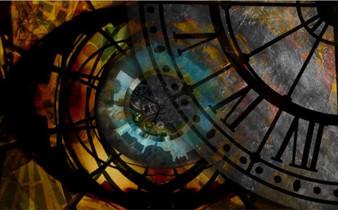 Through the Steampunk Eye Digital Art Design