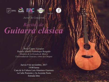 Recitales de Guitarra Clásica EMUNICACH