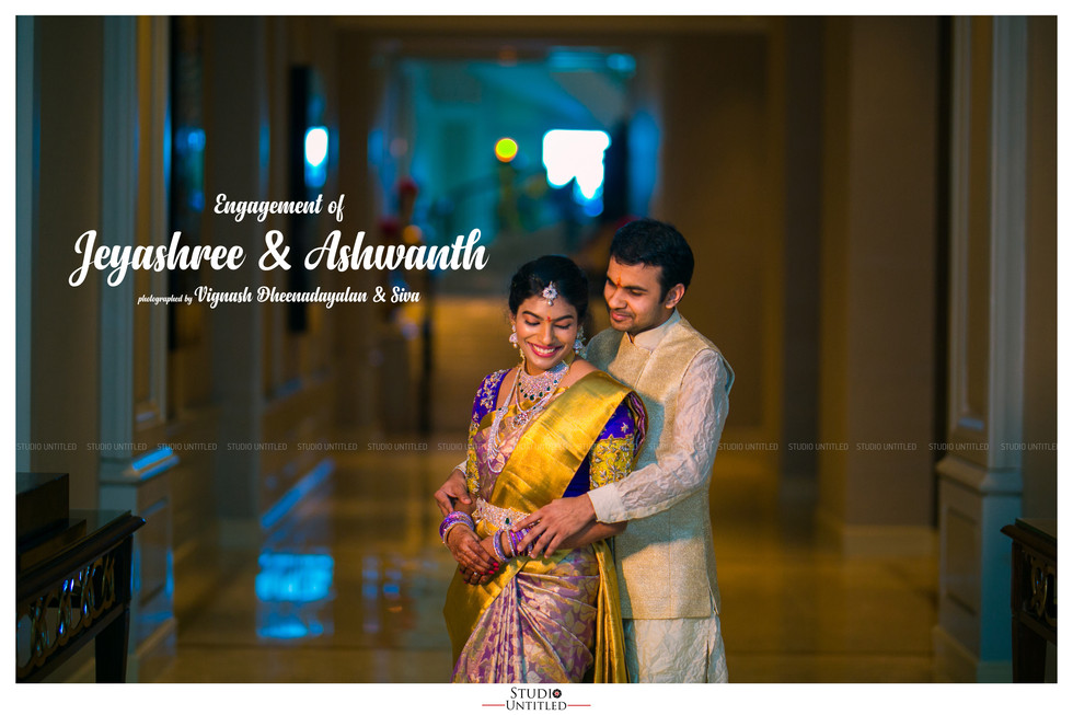 Engagement of Jeyashree & Ashwanth