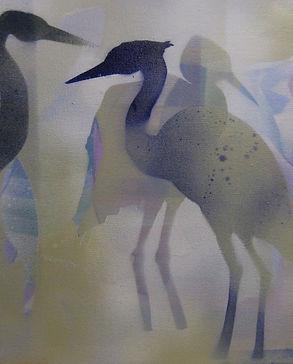 Corie Neumayer-Herons in Gold.jpg