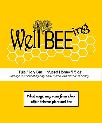 Tulsi (holy basil) Honey 5.5 oz
