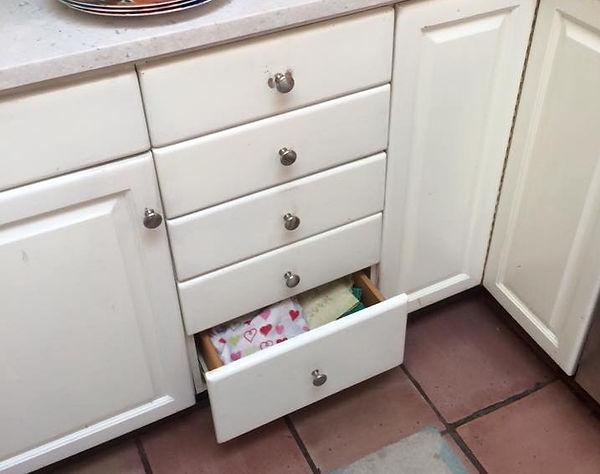 kitchen custom drawers