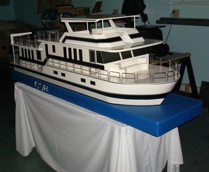 scale boat model