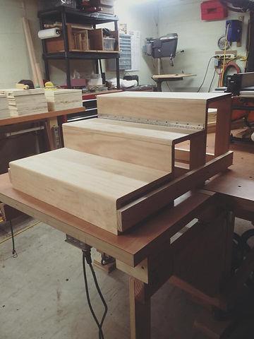 custom steps