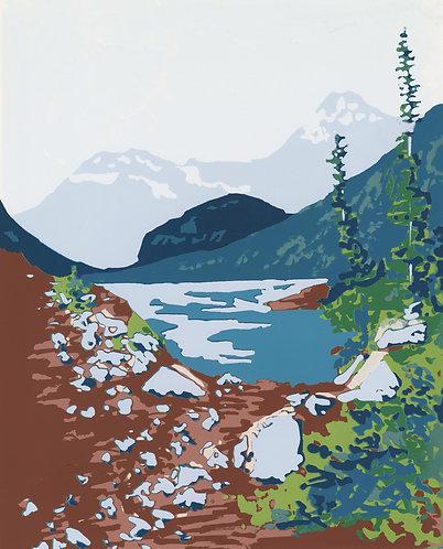 Lava Lake, Montana Print