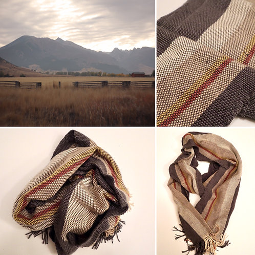 Paradise Valley Fall Hand Woven Scarf