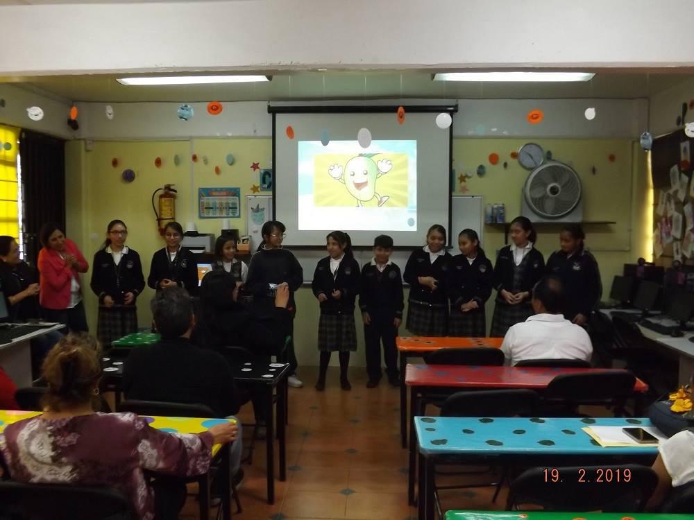 Actividad en el salón de clases